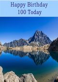 Happy Birthday - 100 Today - Option 2